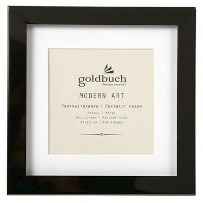 Goldbuch Modern Art fotolijst 10x10 black