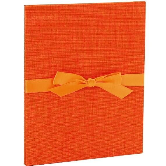 Goldbuch Leporello oranje