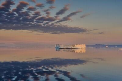 Groenland sunset