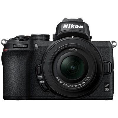 Nikon Z50 body + Nikkor Z DX 16-50mm