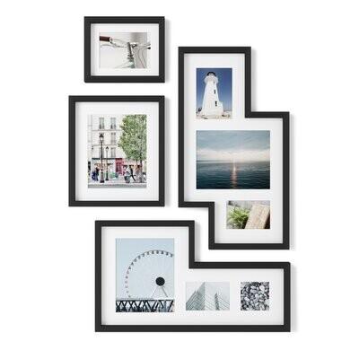 Umbra Mingle Gallery Frames Set zwart