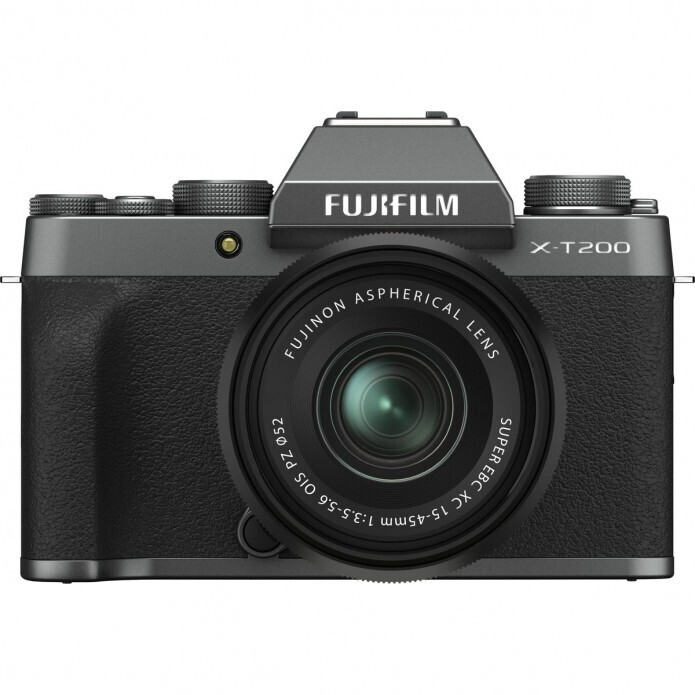 Fujifilm X-T200 + 15-45 dark silver