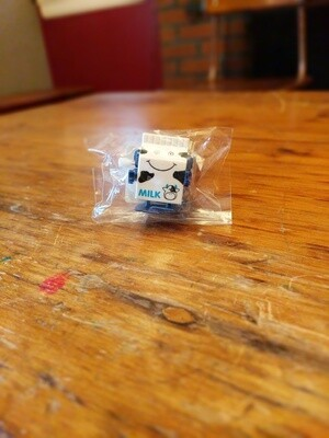 Wind-up toy, adorable milk carton