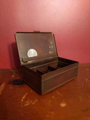 Metal treasure box