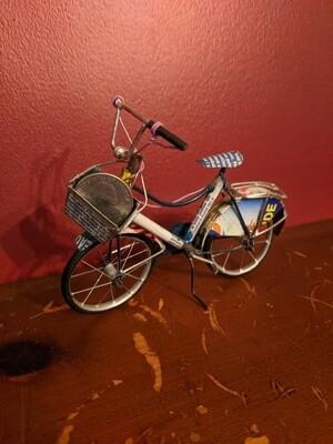 Handmade bicycle toy