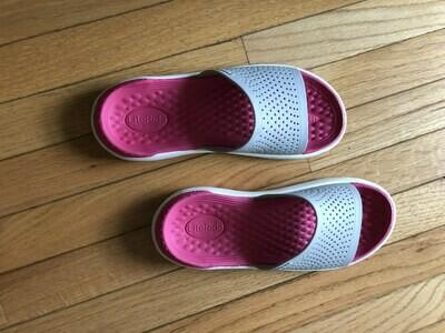 Crocs Lite Ride sandals (size women's 9)