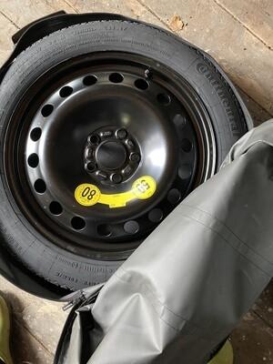New spare volvo tire