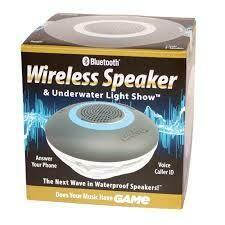 Bluetooth Wireless Speaker/ Underwater Light Show