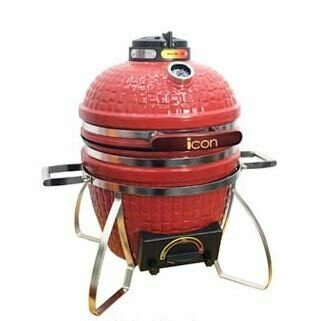Icon Kamado Grill 100 Series - Red