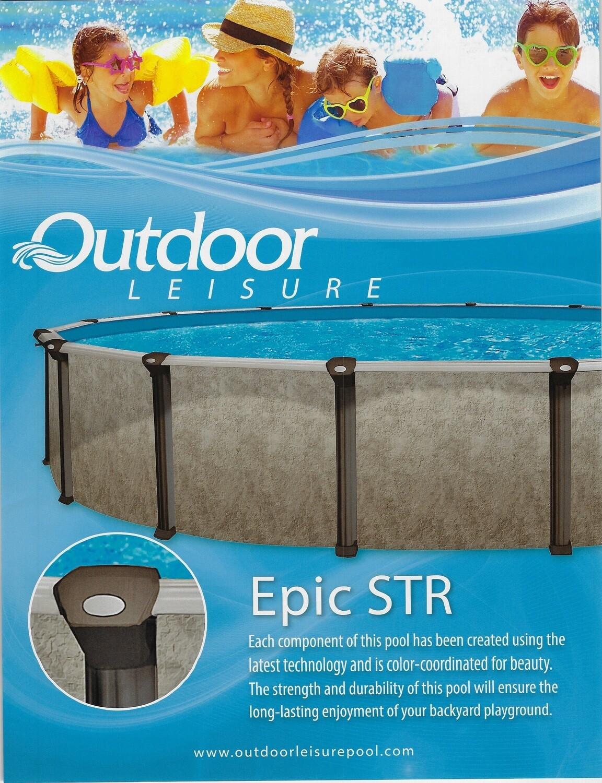 15'x30' Pool Kit- Oval - Epic