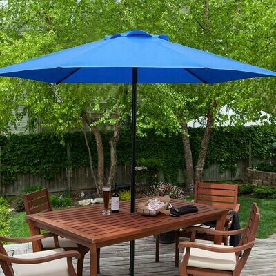 Umbrella - 9ft. Patio Umbrella - Blue