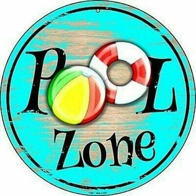 Pool Sign - Pool Zone