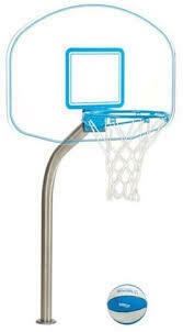 Basketball - Clear Acrylic Deck Mount
