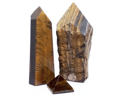 Tiger's Eye Top Polished Towers