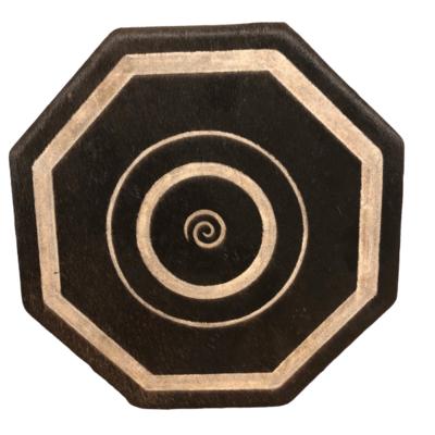 Warrior Sweat lodge Style Hand Drum (Spiral)