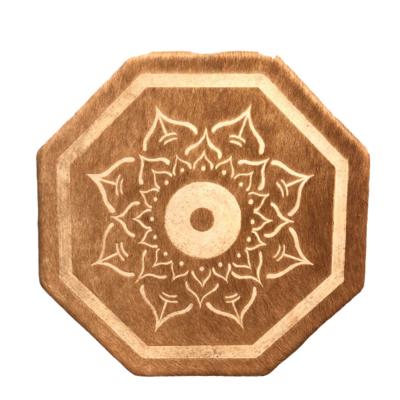 Warrior Sweat lodge Style Hand Drum (Lotus)