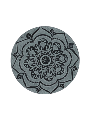 Soapstone Lotus Mandala Incense Holder