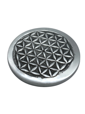 Aluminum Flower of LIfe Incense Holder