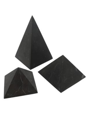 Unpolished Shungite Pyramids