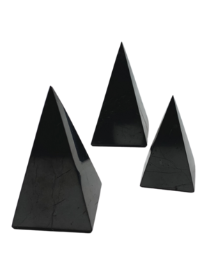 Polished Shungite Pyramids