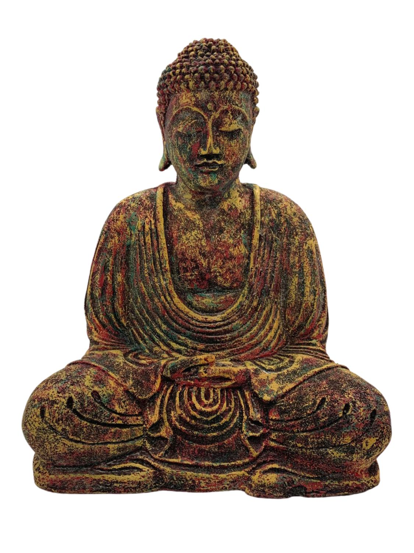 Volcanic Stone Buddha Incense Holder