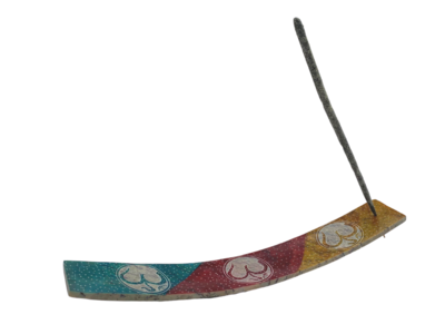 Soapstone Om Incense Holder