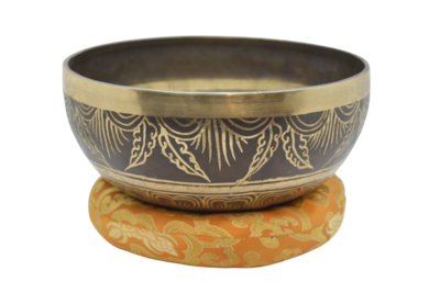 Large Hand Crafted Tibetan Singing Bowl