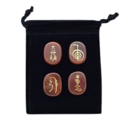 Reiki Symbols Engraved Stones