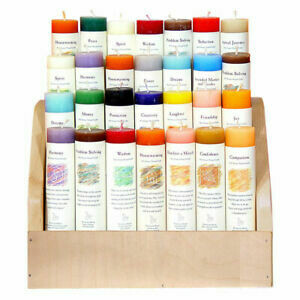 Crystal Journey Candles - Reiki Energy Charged Herbal Magic Pillars