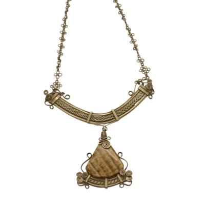 Aragonite Goddess Necklace