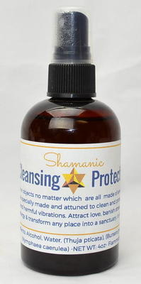 Shamanic Cleansing and Protection Formula 4oz
