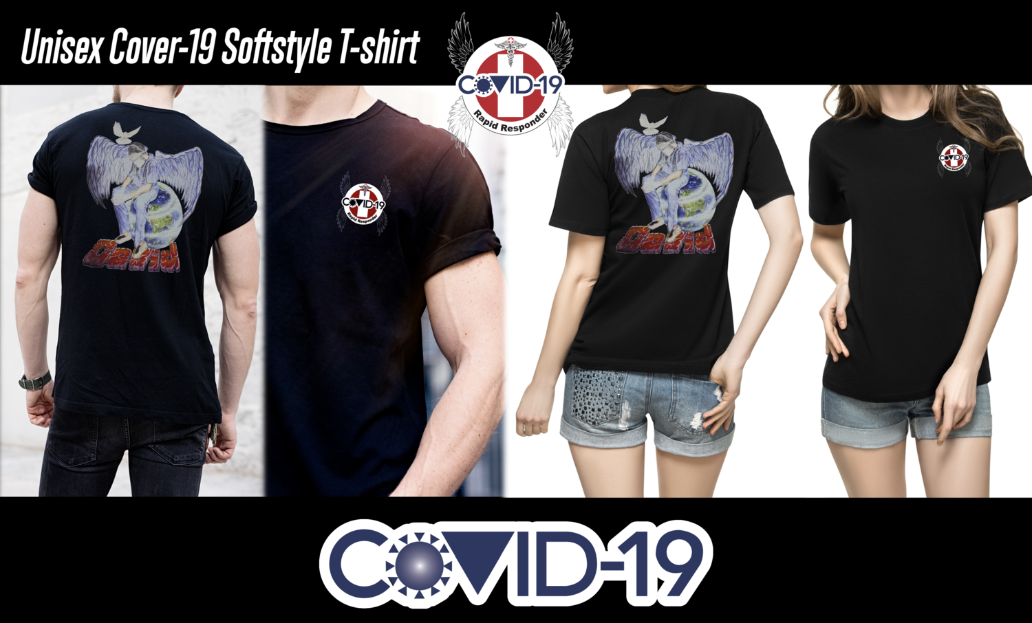 Covid-19 Soft style tee