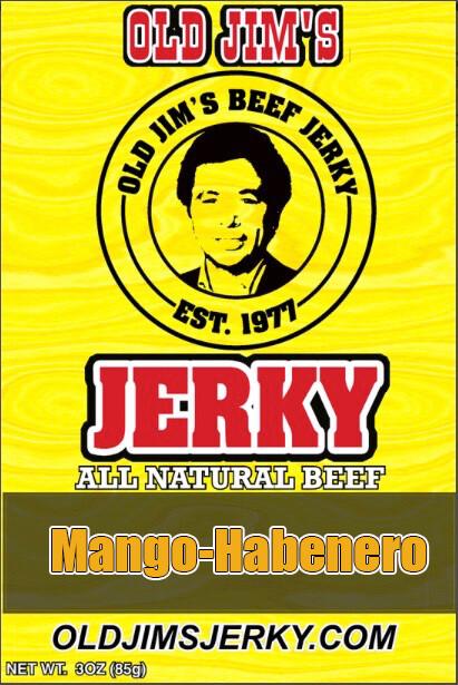 Mango-Habenero Jerky