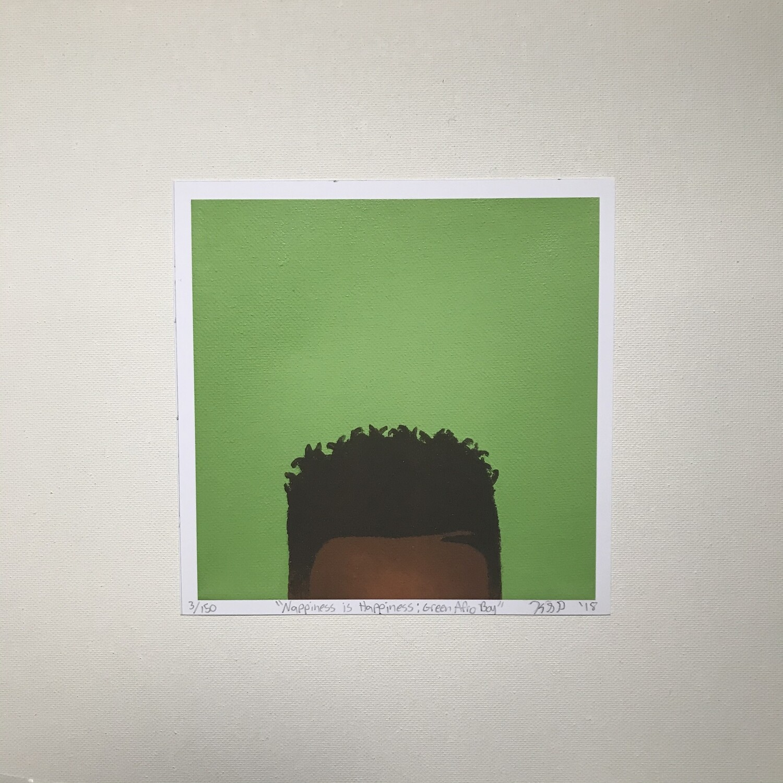 Karmyn Pittman Green Afro Baby