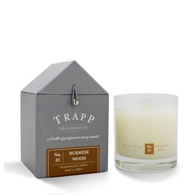 Trapp Candle No. 45 Burmese Wood