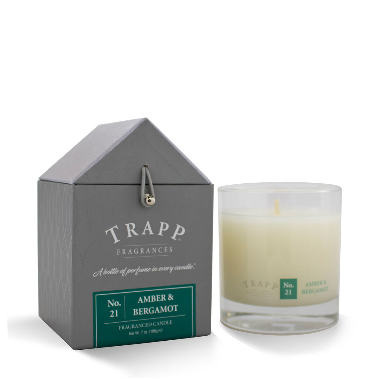 Trapp Candle No. 21 Amber + Bergamot