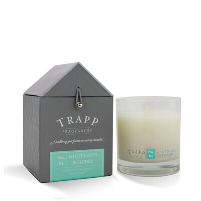 Trapp Candle No. 64 White Lotus + Lychee
