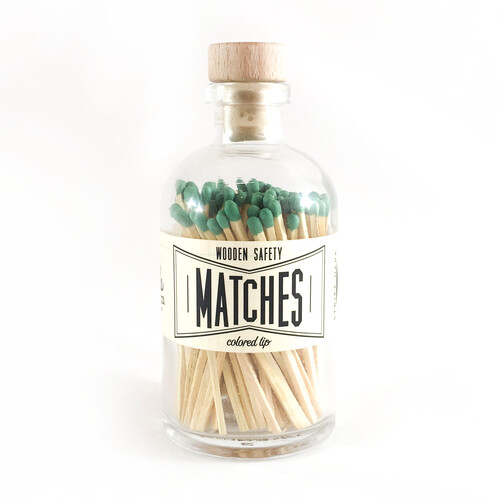 Vintage Apothecary Matches - Green