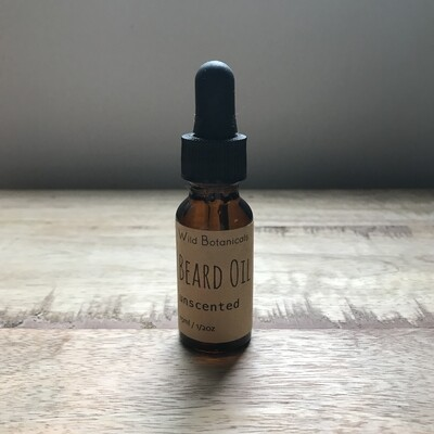 Wild Botanicals Beard Oil unscented