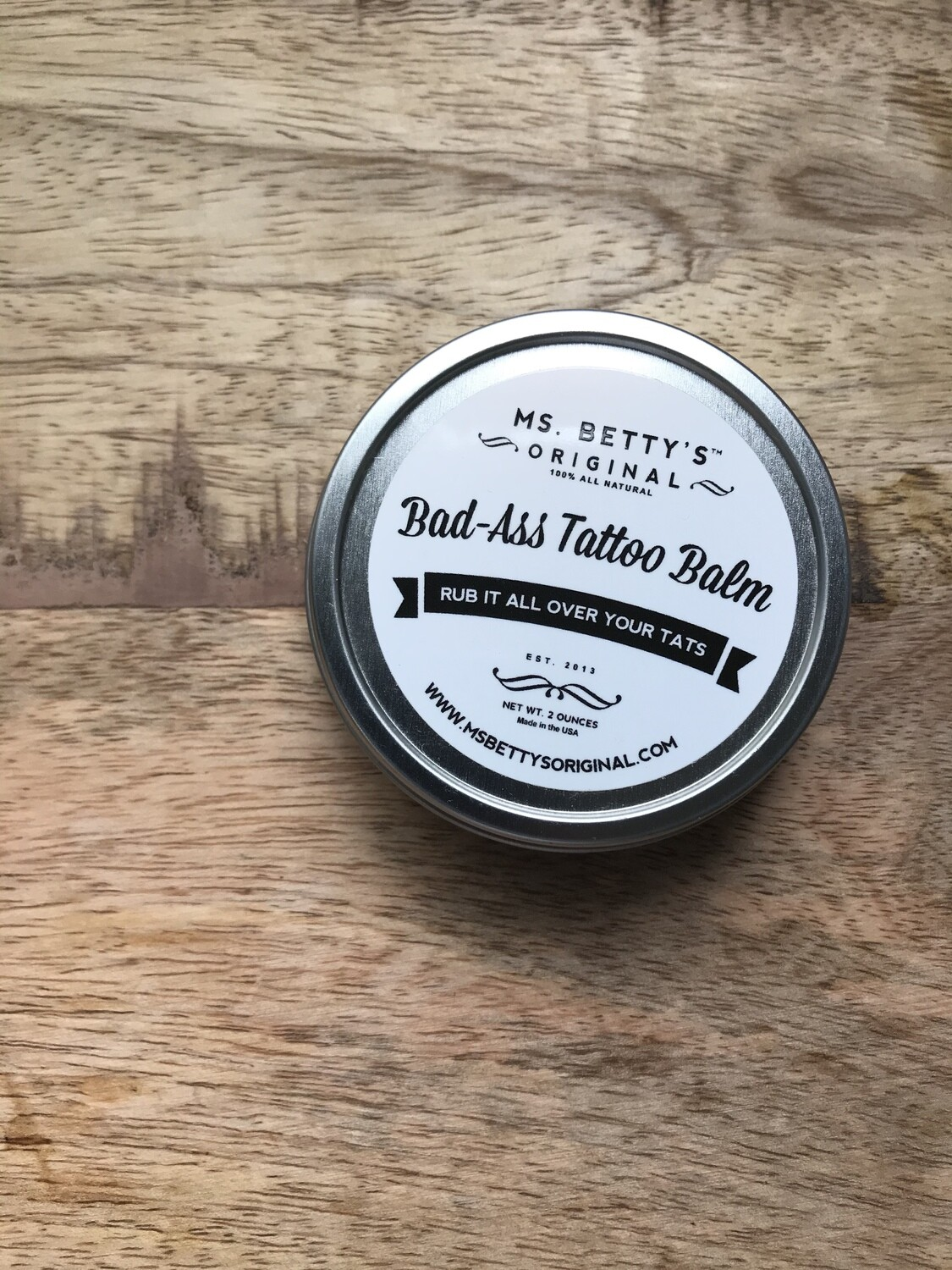 Miss Betty's Bad-Ass Tattoo Balm