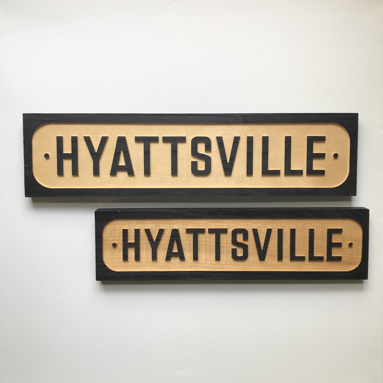 Hyattsville Trolley Sign