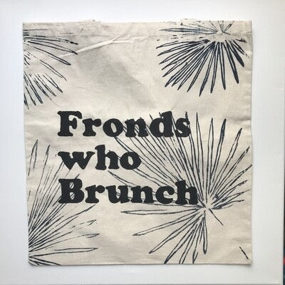 Fronds who Brunch Tote