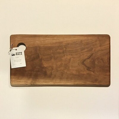 Woodwala Cherry Charcuterie + Serving Board