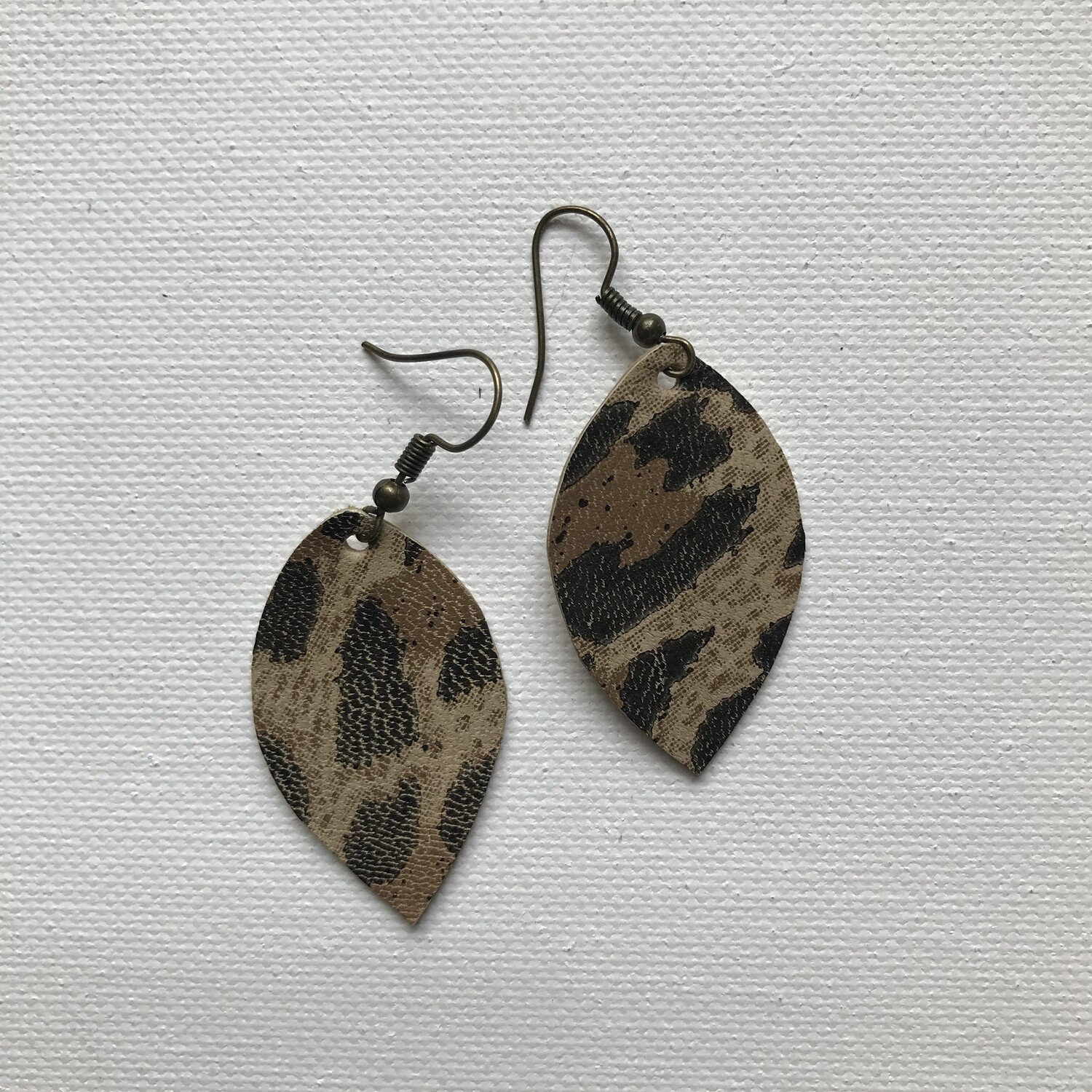 Leopard Mini Earring