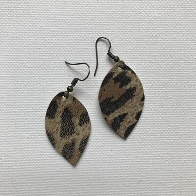 Leopard Mini Earring