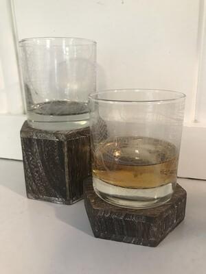 Hyattsville Rocks Glass