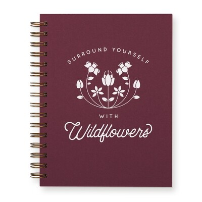 Surround Yourself with Wildflowers Journal