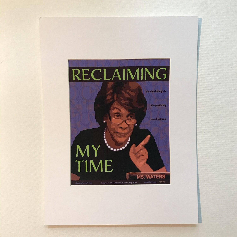Maxine Waters Print
