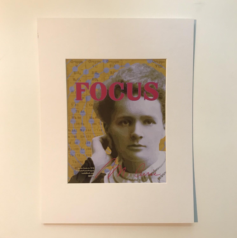 Marie Curie Print