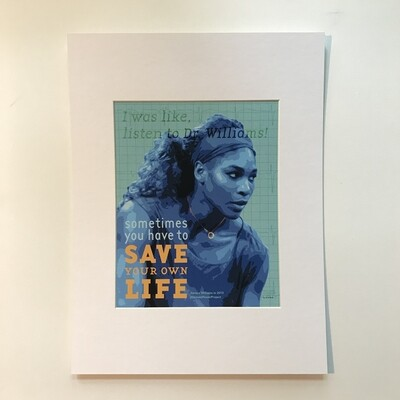Serena Williams Print
